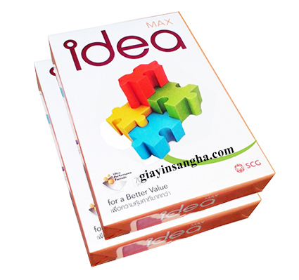 Giấy in IDEA 70G A4
