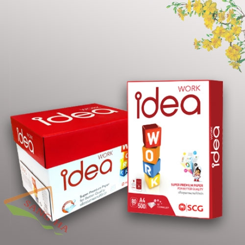 Giấy in IDEA 80G A5